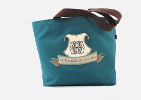 Canvas shopping bag - Sac en toile personnalisable