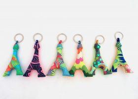 Porte-clés en tissu personnalisables