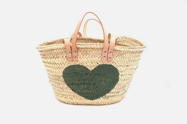 Customizable beach baskets - Panier en osier personnalisable