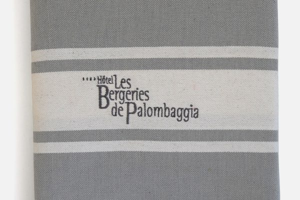 Serviette fouta traditionnelle brodée, Personalised embroidered fouta towel