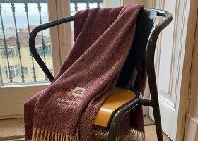 Personalized herringbone blanket