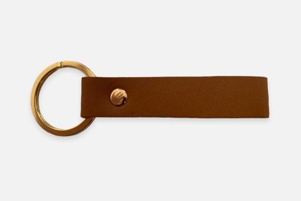 custom rectangular leather key rings;Porte-clés rectangulaires personnalisés en cuir