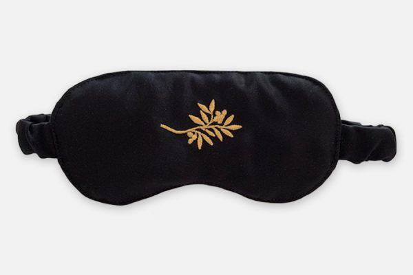 masque de nuit en satin personnalisable -custom satin eye mask