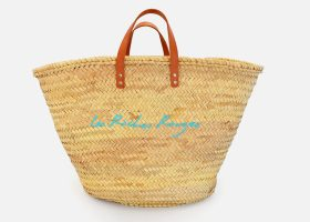 Customizable beach straw baskets,Panier en osier personnalisable