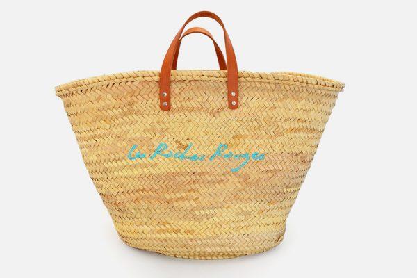 Customizable beach straw baskets,Panier en osier personnalisable