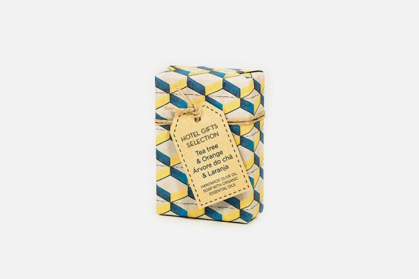 Savon personnalisé avec un emballage azulejos,Custom handmade soap with azulejos wrapping