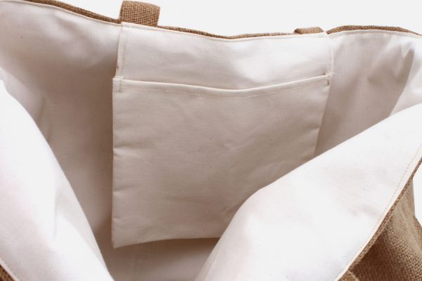 Extra large jute bag ; Sac en jute XXL