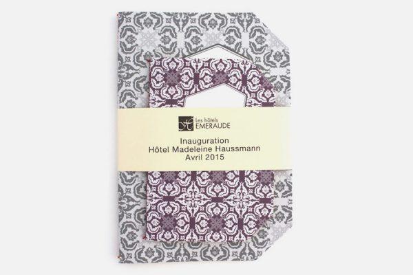 Personalized notebooks,Carnets sur-mesure reliés artisanalement