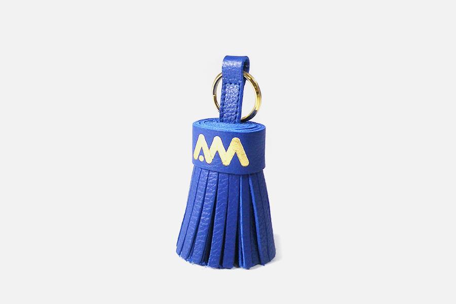 Custom leather key rings-Porte-clés personnalisés en cuir