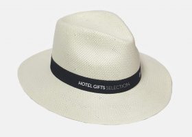 Custom straw hats with printed logo