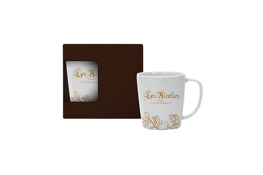 Mug conique personnalisable en porcelaine,Cone shape porcelain mug