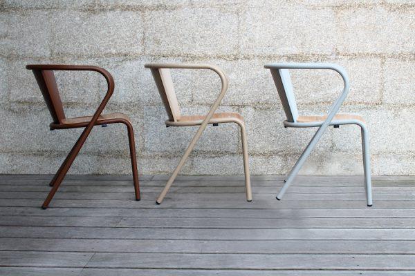 Chaise Lisbonne pour hôtels et restaurants,Lisbon metal chair for hotels and restaurants