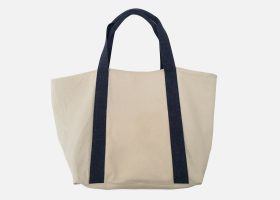 Sac cabas en coton stone-washed personnalisable