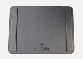 Custom leather placemats for hotels