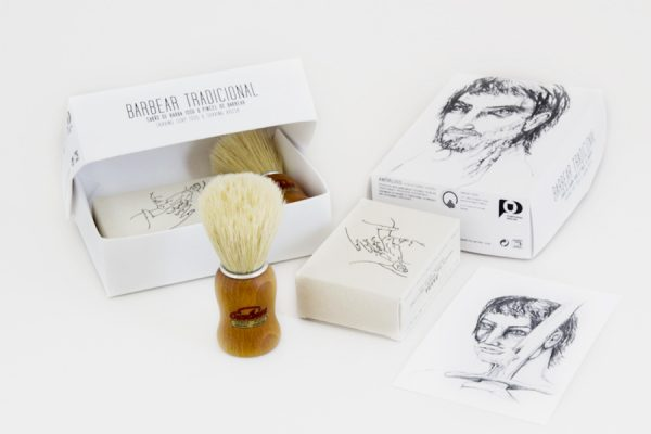 Custom classic shave set;Kit de rasage traditionnel personnalisé
