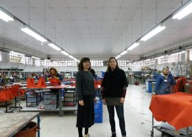 Visit of a leather goods factory #1