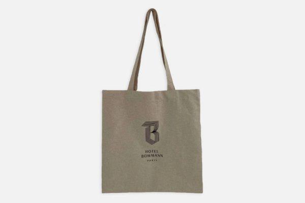 Custom cotton tote bag ;Tote bag en coton personnalisé