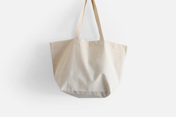 Tote bag en lin personnalisé, Custom linen tote bag