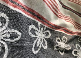 Serviette fouta éponge personnalisée, Custom terry fouta towel