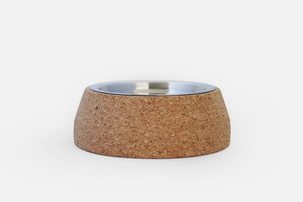 Custom cork pet feeder- gamelle en liège personnalisable