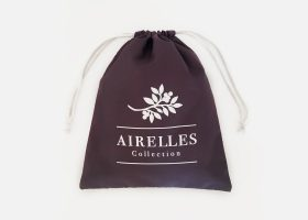Custom waterproof drawstring bag, Trousse imperméable à cordons personnalisable