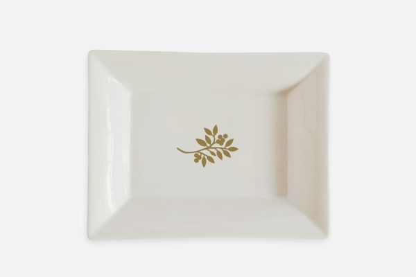 custom porcelain catchall or jewelry tray,vide-poche en porcelaine personnalisable