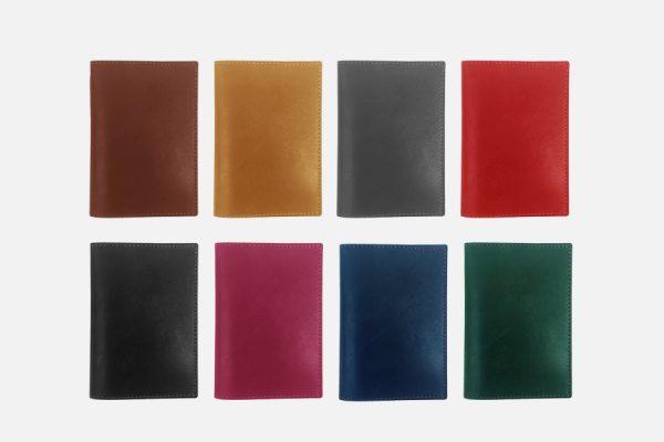custom leather passport sleeve,étui à passeport en cuir personnalisé