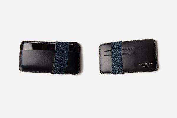 Custom leather iPhone sleeves, étui pour iPhone en cuir personnalisé.