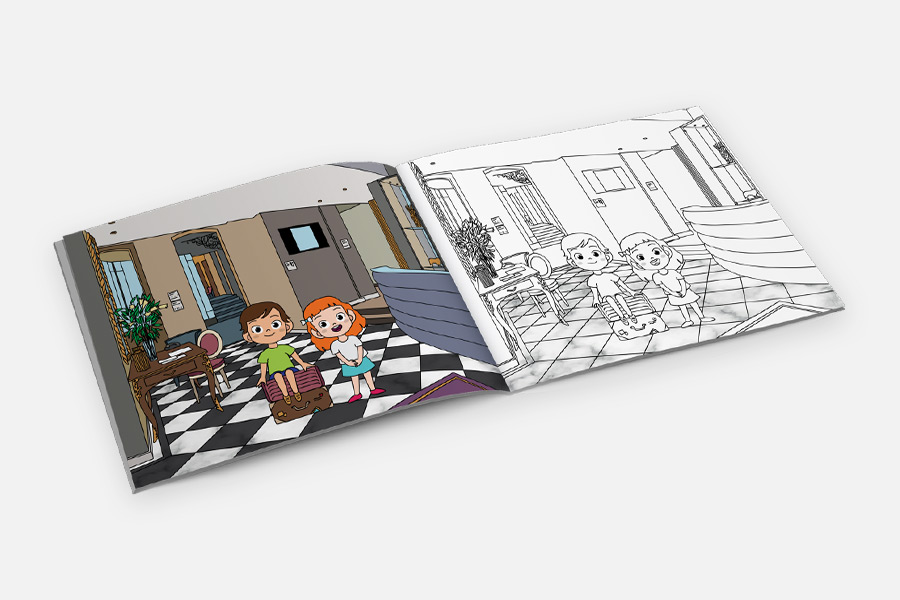 Cahier De Coloriage Personnalise Hotel Gift Selection