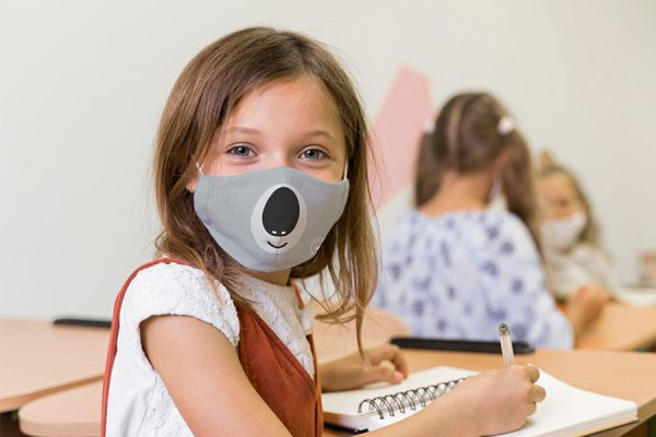 Cloth face masks for kids;Masques covid-19 pour enfants;