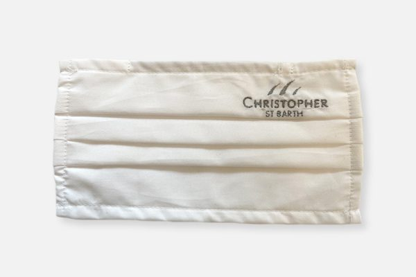 2 layers rectangular cotton facemasks;Masques rectangulaires 2 épaisseurs en coton
