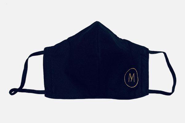 Triangle cotton face masks;Masques triangulaires en coton