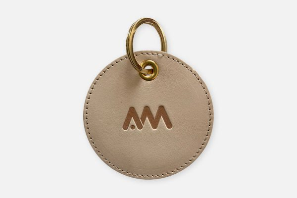 Custom vegtan leather keyrings;Porte-clés en cuir végétal