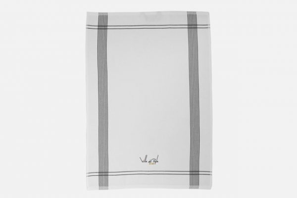 Personalized bistro kitchen towel,;Torchon bistrot en coton personnalisé