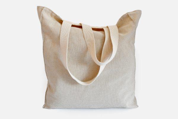 Cabas en lin personnalisé;Custom linen Tote bag