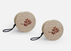Custom wooden yoyo