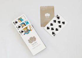 Custom printed playing cards; Jeu de cartes personnalisé